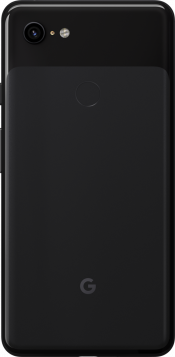 Pixel 3 XL 64GB Just Black (Back)