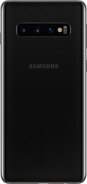 Galaxy S10 128GB Prism Black Refurbished (Back)