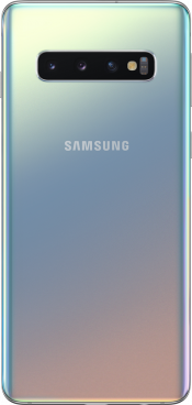 Galaxy S10 128GB Prism Silver (Back)