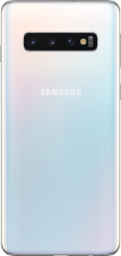 Galaxy S10 128GB Prism White Refurbished (Back)