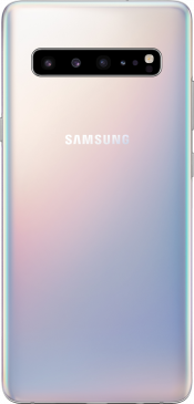 Galaxy S10 5G 256GB Crown Silver EE (Back)