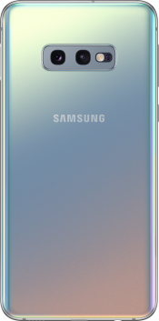Galaxy S10e 128GB Prism Silver (Back)