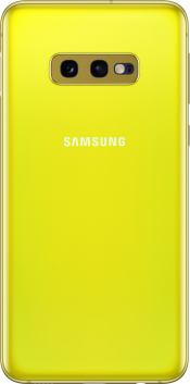 Galaxy S10e 128GB Canary Yellow (Back)