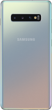 Galaxy S10 Plus 128GB Prism Silver (Back)