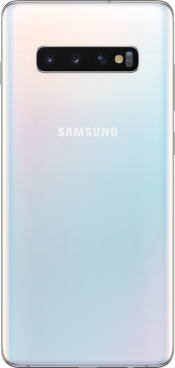 Galaxy S10 Plus 128GB Prism White (Back)
