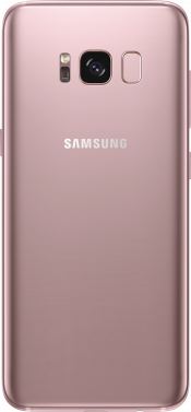 Galaxy S8 Pink Gold (Back)
