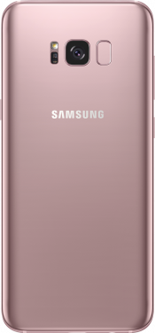 Galaxy S8 Plus Pink Gold (Back)