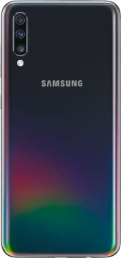 Galaxy A70 128GB Black (Back)