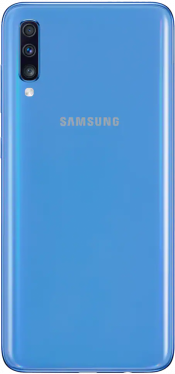 Galaxy A70 128GB Blue (Back)