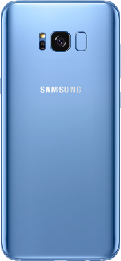 Galaxy S8 Coral Blue (Side)