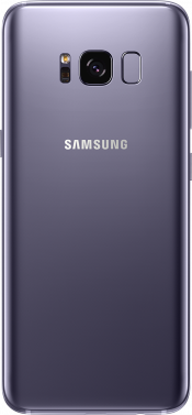 Galaxy S8 Orchid Grey Refurb (Back)