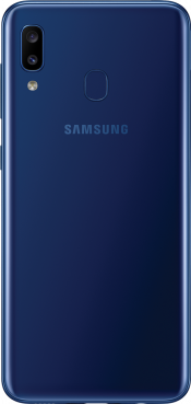 Galaxy A20e 32GB Blue (Back)