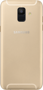 Galaxy A6 2018 Gold (Back)