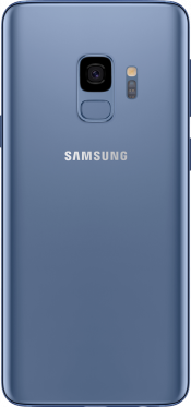 Galaxy S9 Blue (Back)