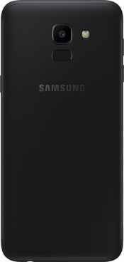 Galaxy J6 2018 Black (Back)