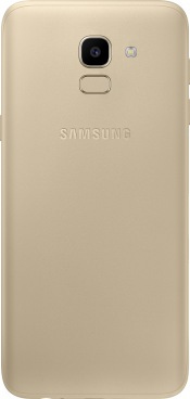 Galaxy J6 2018 Gold (Back)