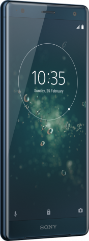 Xperia XZ2 Blue (Back)
