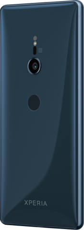 Xperia XZ2 Blue (Side)