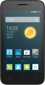Alcatel Pixi 4inch 5 Black
