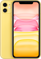 iPhone 11 256GB Yellow Refurbished (Front)