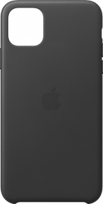 Apple iPhone 11 Pro Leather Case Black