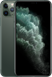 iPhone 11 Pro Max 256GB Midnight Green (Front)