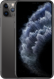iPhone 11 Pro Max 256GB Space Grey (Front)