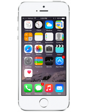 FREE Apple iPhone 5s 16GB Silver Refurbished
