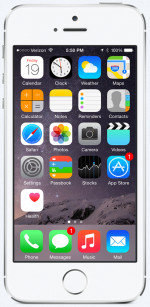 iPhone 5s 32GB Silver Refurbished