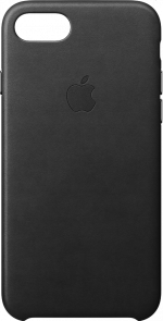 Apple iPhone 7 and 8 Black Leather Case