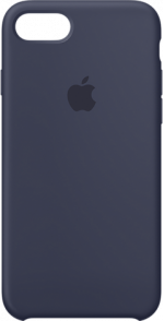 Apple iPhone 7 and 8 Leather Case Midnight Blue