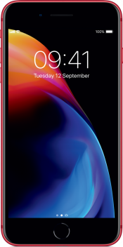 iPhone 8 Plus 256GB Product Red (Front)