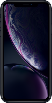 iPhone XR 128GB Black Refurbished (Front)