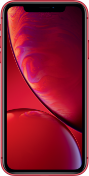 iPhone XR 128GB Red Refurbished (Front)