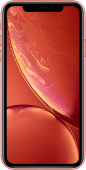 iPhone XR 64GB Coral Refurbished (Front)