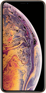 iPhone XS Max 64GB Gold Refurbished (Front)