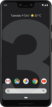 Pixel 3 XL 128GB Just Black (Front)