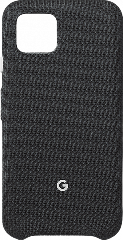 Pixel 4 Black Fabric Case