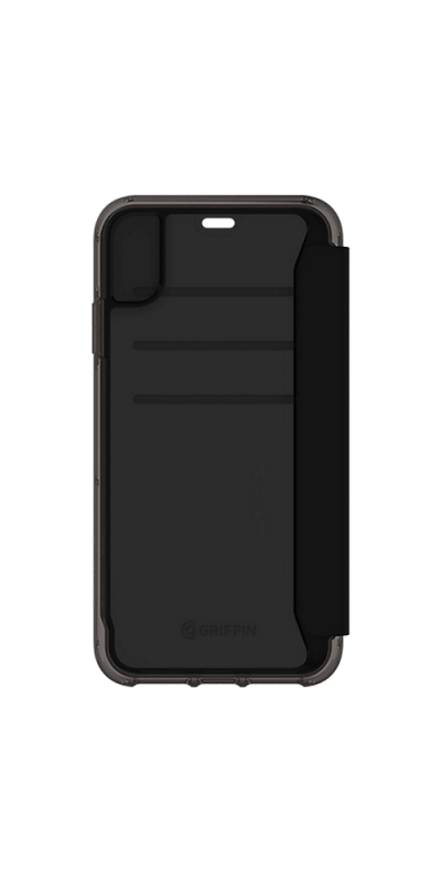 Survivor Clear Wallet for iPhone XR Black