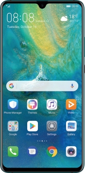 Mate 20 X (5G) 256GB Green Vodafone (Front)