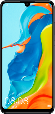 P30 Lite 128GB Black (Front)