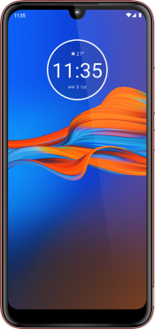 Moto E6 Plus 32GB Red (Front)
