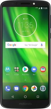 Moto G6 Play Blue (Front)