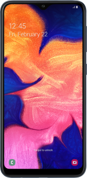 Galaxy A10 32GB Black Refurbished (Front)