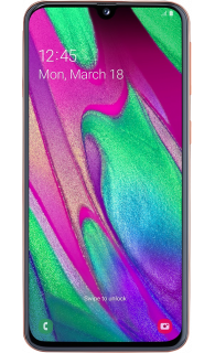 Samsung Galaxy A40 64GB Coral