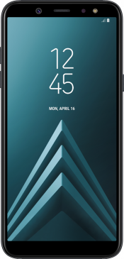 Galaxy A6 2018 Black (Front)