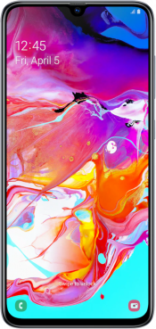 Galaxy A70 128GB White (Front)