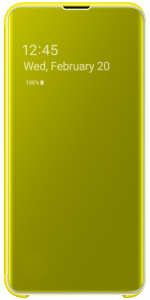 Samsung Galaxy Clear View Cover S10e Yellow
