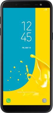Galaxy J6 2018 Gold (Front)