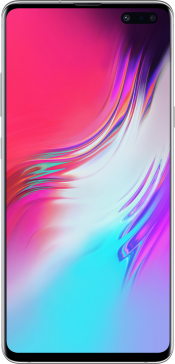 Galaxy S10 5G 256GB Crown Silver (Front)